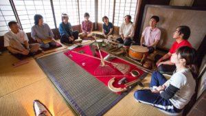 森の音と伝統芸能